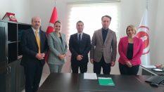 Samsun Üniversitesi ile Türkiye Ekonomi Bankası (TEB) Arasında Maaş Ödemesi Sözleşmesi İmzalandı