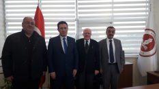 Samsun Cumhuriyet Başsavcısı ve Adalet Komisyonu Başkanından Rektörümüze Ziyaret