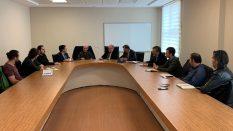 Uluslararası İnovasyon Oluşum Grubu Üyelerinden Rektörümüze Ziyaret