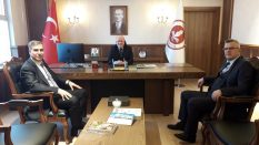Vergi Dairesi Başkanı ile Orta Karadeniz Gümrük Bölge Müdüründen Ziyaret