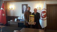 27. Dönem Samsun Milletvekili Adayı Caner Göktepe'den Rektörümüze Ziyaret