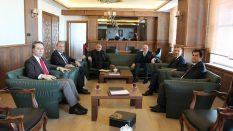 Samsun Milletvekili Orhan Kırcalı'dan Rektörümüze Ziyaret