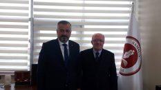 Bafra Belediye Başkanı Kılıç'tan Rektörümüze Ziyaret
