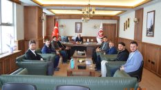 Türkiye Gençlik Vakfı (TÜGVA) Samsun İl Temsilcilerinden Rektörümüze Ziyaret