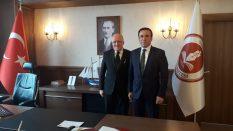 Canik Belediye Başkanı Osman Genç'den Rektörümüze Ziyaret