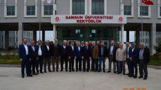 Samsun Üniversitesinde Anlamlı Ziyaret