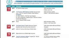 Yıldırım Beyazıt Üniversitesi 15 Temmuz Demokrasi ve Milli Birlik Günü Anma Etkinlikleri