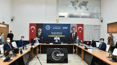 Rektör Yardımcısı Kaynak, AFAD 2021 Yılı Tanıtım Toplantısı'na Katıldı