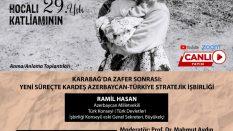 Karabağ'da Zafer Sonrası: Yeni Süreçte Kardeş Azerbaycan-Türkiye Stratejik İşbirliği | Ramil Hasan