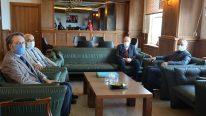 Samsun Eğitim ve Araştırma Hastanesi BaşhekimindenRektör Aydın'a Ziyaret
