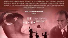 23 Nisan Ulusal Egemenlik ve Çocuk Bayramı Mesajı