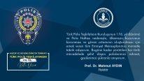Polis Günü ve Haftası Polis Teşkilatının Kuruluşu Mesajı