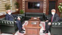 Rektör Aydın'dan Sağlık Bilimleri Üniversitesi'ne Ziyaret