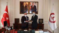 Büyükelçi Alagić'ten Rektör Aydın'a Ziyaret