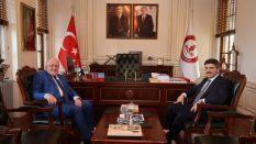 Prof. Dr. Yasin Aktay'dan Rektör Aydın'a Ziyaret