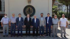 Ensar Vakfı'ndan  Rektör Aydın'a Ziyaret