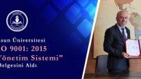 Samsun Üniversitesi Üçüncü Yılında Kalitesini Belgelendirdi