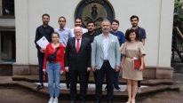Rektör Aydın'dan Samsun Roket Takımına Tebrik