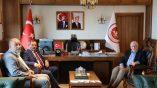 Samsun Büyükşehir Belediyesi ve Canik Belediyesi'nden Samsun Üniversitesi'ne Ziyaret